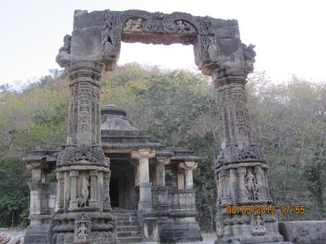 The Entrance to Harishchandra's Chauri, near Shamlaji Temple