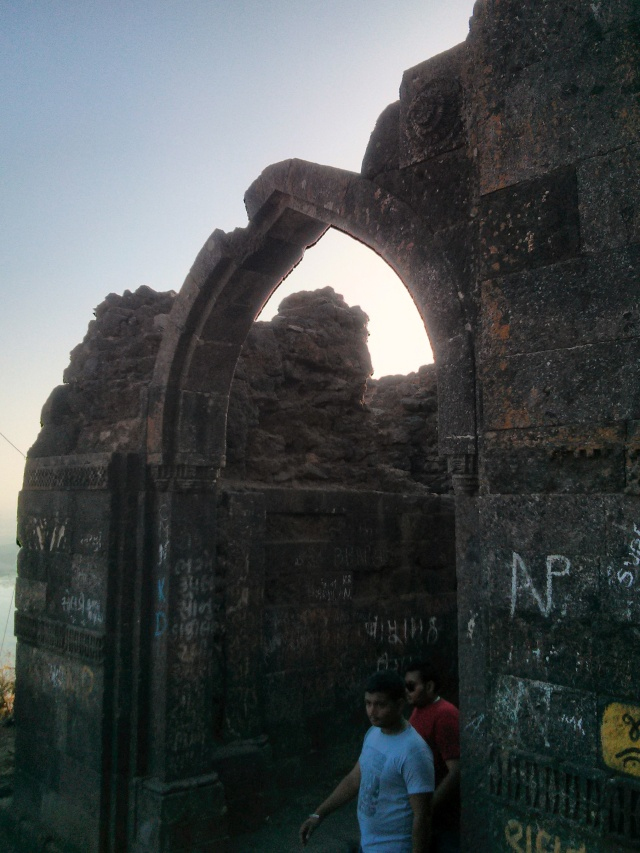 One of the Stone Arches on way to top of Pavagadh