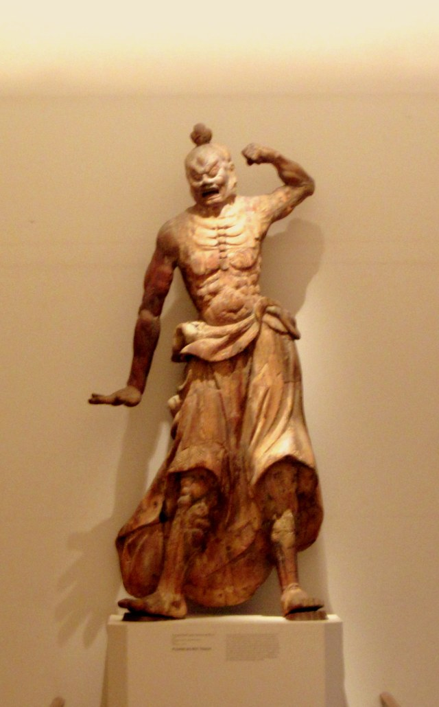 """""""Aagyo"""", one of the two Nio - the guardians"""