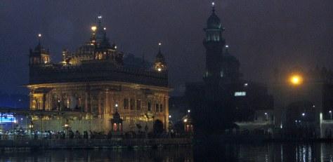 Suvarna Mandir at 5:30 am - or so. (c) margie parikh