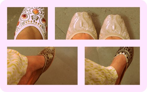Foot Fetish - Amritsari Juttis (c) margie parikh