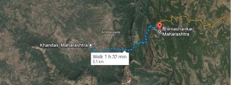 Khandas to Bhimashankar