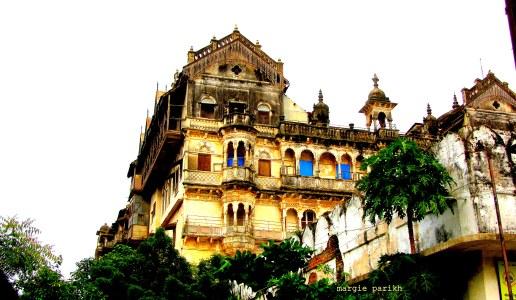 Palace at Lunawada (c) margie parikh