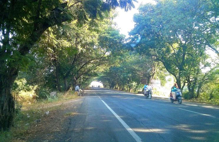 Exit from Junagadh
