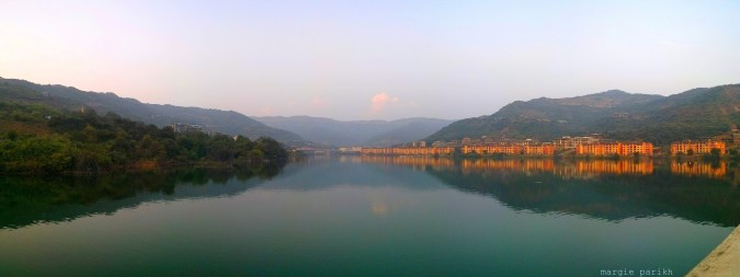 Lavasa view from the bridge (c) margie parikh
