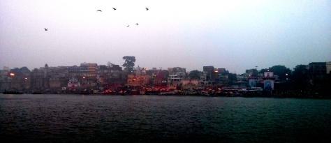 Dawn, 6am at Ganga in Kashi