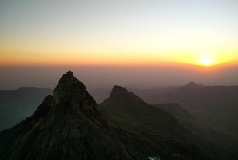 Dattatreya Peak as Seen from Ambaji