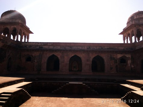 Palace of BAz Bahadur at Mandu (c)margieparikh
